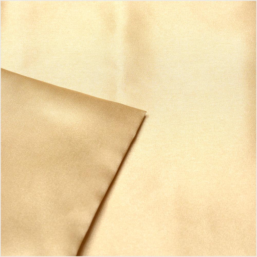 金色の枕カバー