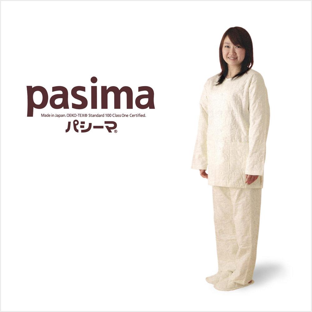 パシーマのえりなしパジャマの特長